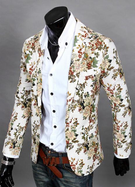 2017 Top Suit Jacket For Men Terno Masculino Suit Blazers Jackets Traje Hombre Men's Casual BlazerSize S-XXL