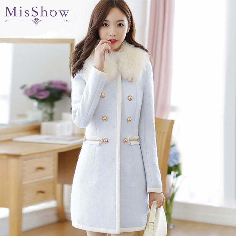 Popular Wool White Coat-Buy Cheap Wool White Coat lots from China ...