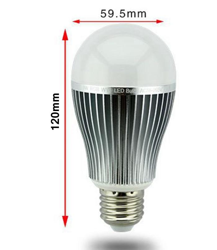 E14 Rgbw W Intelligente E27 Cct Milight Gu10 Rvb 4 9amp; Contrôleur Ampoule 2 5 6 Télécommande Rgbww Led 4g Zones À Et Sans Fil Lampe CerdBxo