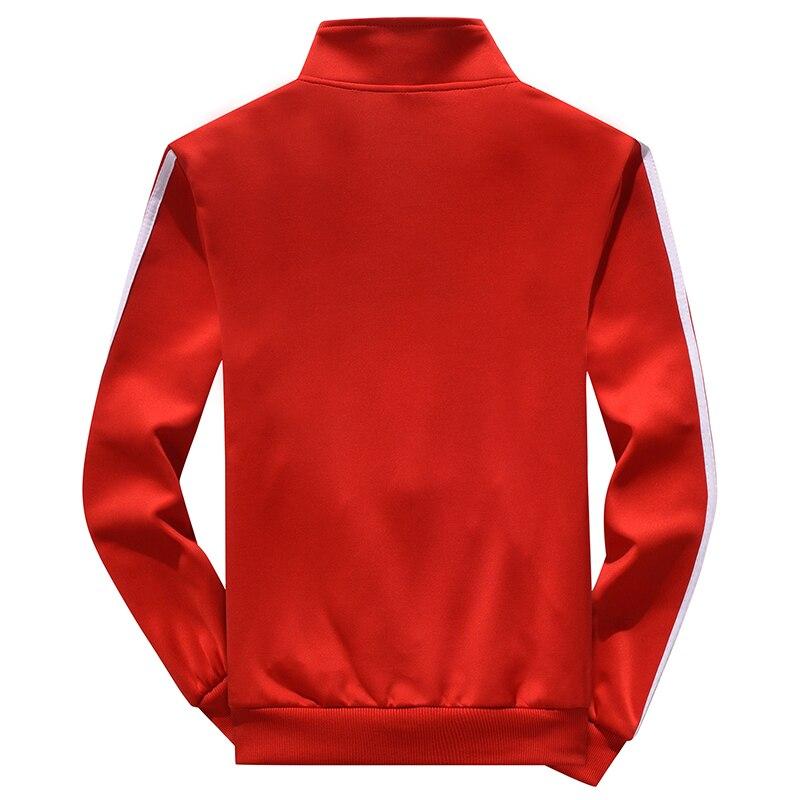 Hommes décontracté és printemps survêtement mâle sweat à manches longues pantalon lettre vêtements de sport décontractés costumes hommes ensemble veste patchwork - 5