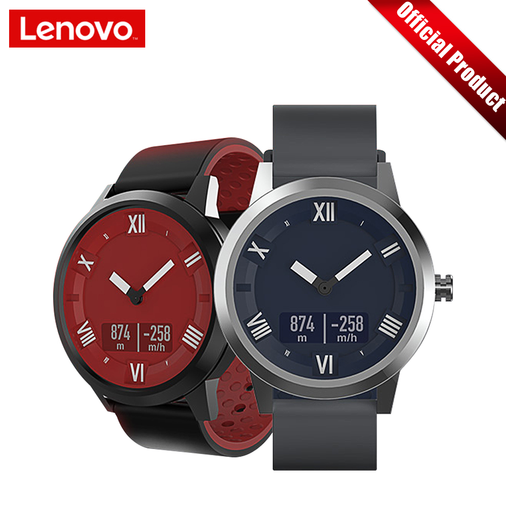 Lenovo Watch X Plus Bluetooth5.0 Montre Intelligente Sport Version Smartwatch Écran OLED Double Couche Bracelet En Silicone Montre-Bracelet