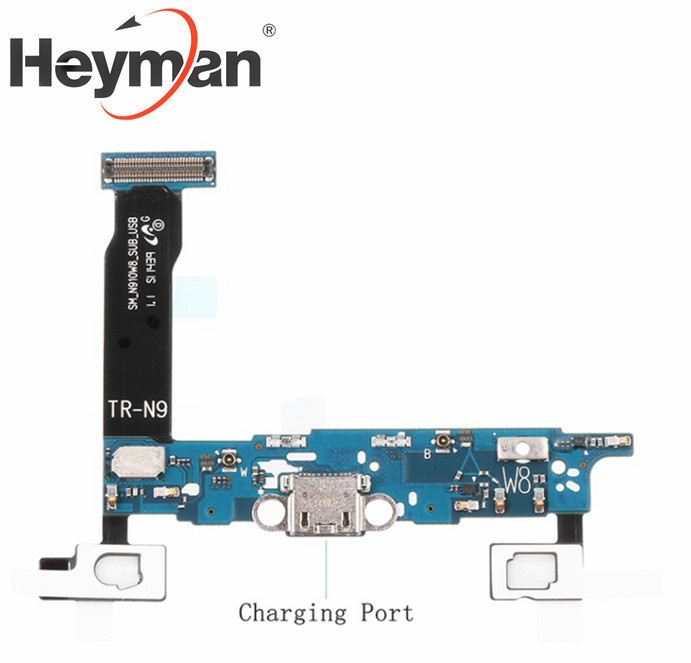 Heyman Flex Cablet For Samsung Galaxy Note 4 SM-N910W8 Charging Port Ribbon Flat Cable Replacement Parts