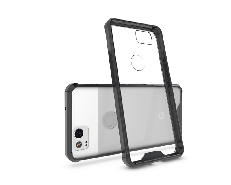 Case For Google Pixel 2 Back Cover For Google Pixel 2 XL Case Shock Proof Armor Clear Transparent Soft Phone Case Kimthmall