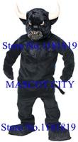 MASCOT профессиональный черный бык костюм талисман для взрослых OX тему аниме косплей характер нарядное платье корпоративного школы талисман
