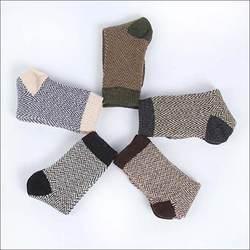 Новые зимние Термальность кашемировые носки Для мужчин теплая шерсть кролика носки Для мужчин Сгущает носки 5 пар/лот Бесплатная доставка