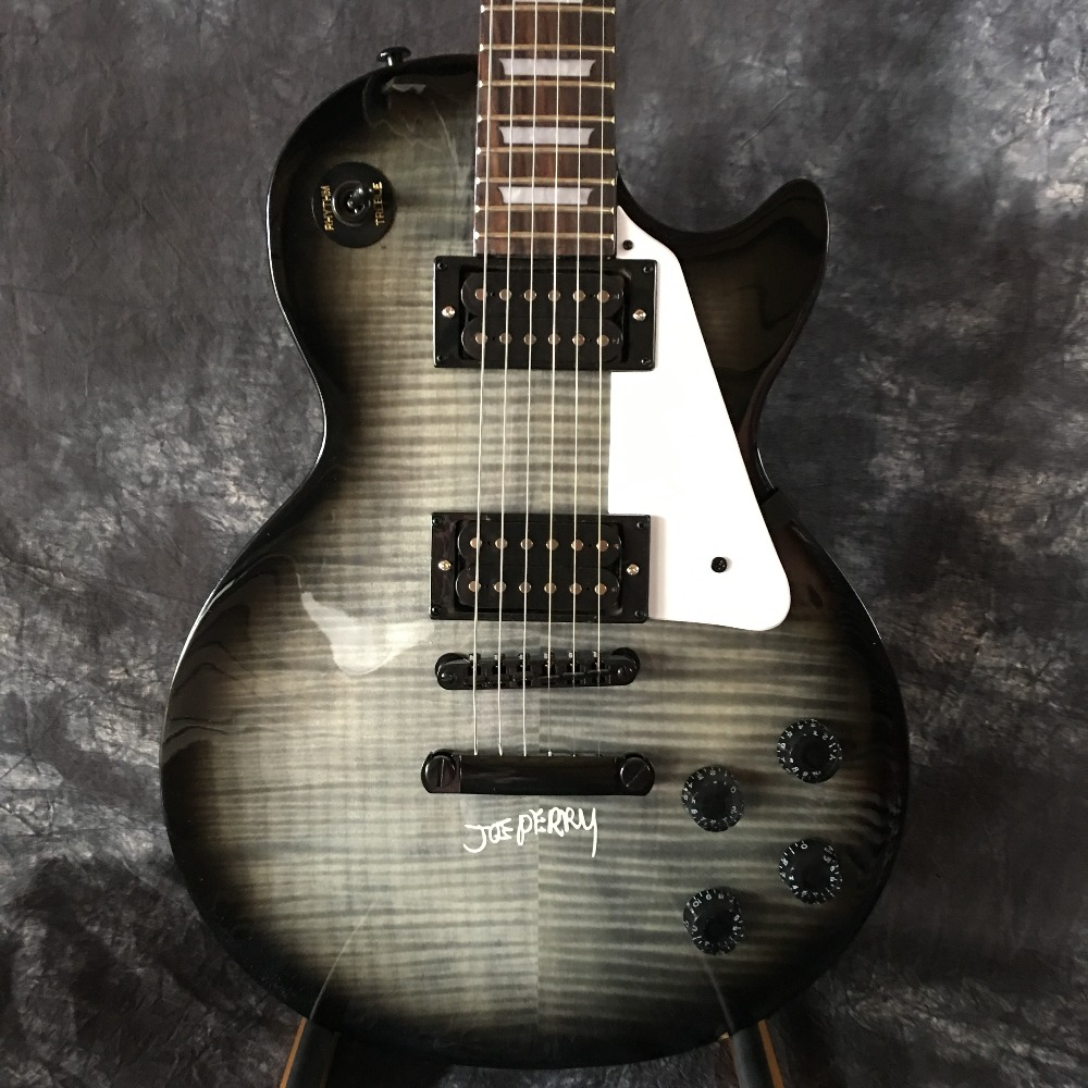 Solid, Sunburst, Electric, Guitar, Custom, black
