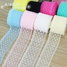 (10 ярдов/рулон) 30 мм кружевная ткань, тонкая лента для украшения, Подарочный упаковочный материал