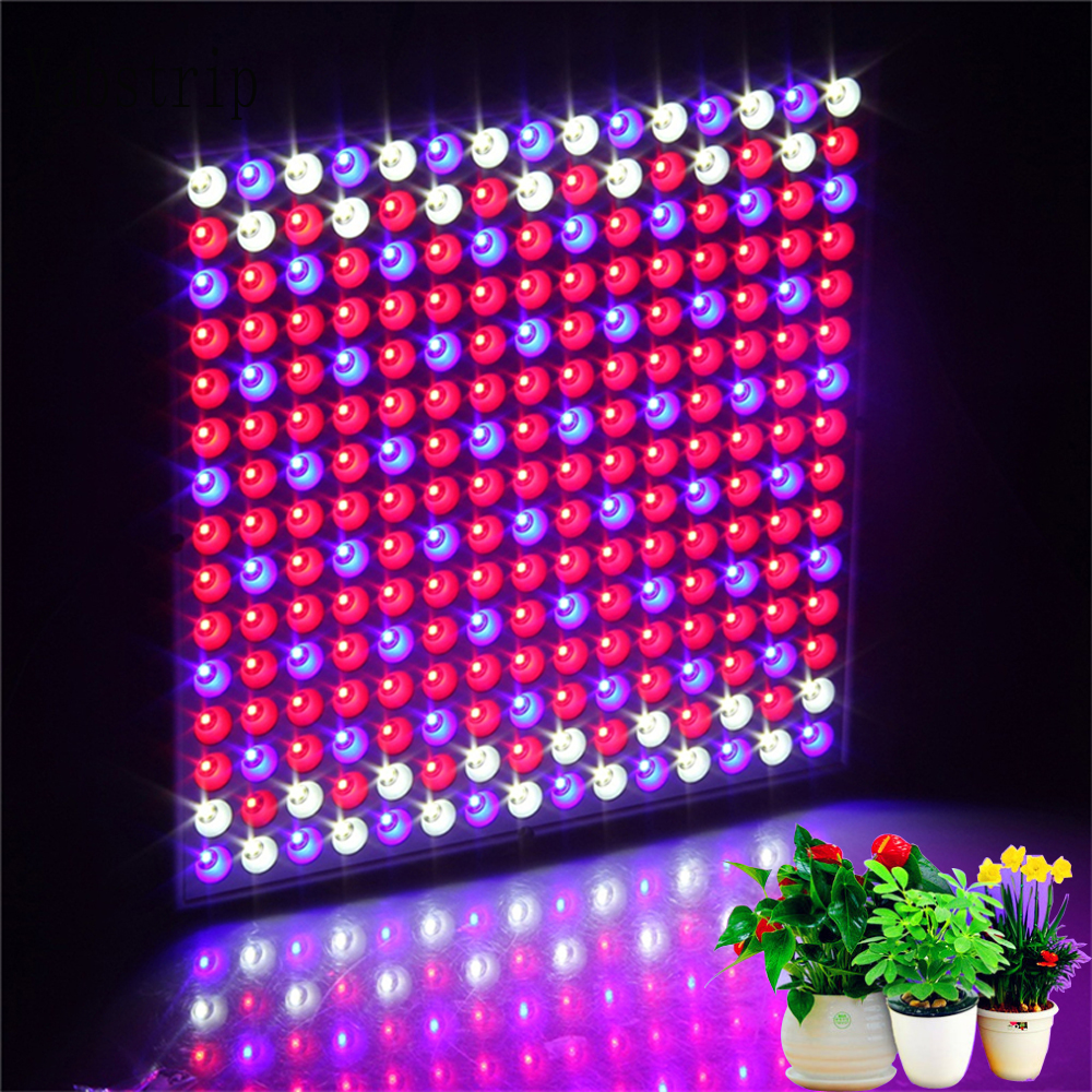 Yabstrip 25W 45W 60W LED Grow Light 2835 SMD Full Spectrum LED Panel Light For Indoor Hydroponic System Tent Plants Grow Lamps