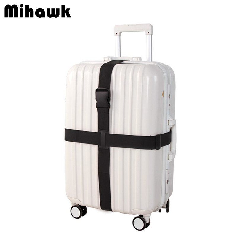 Adjustable Cross Luggage Straps Travel Trolley Suitcase Personalized Safe Packing Belt Parts Items Accessories Supply Product