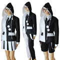 3Styles Danganronpa Monokuma Cosplay Costume Dangan-Ronpa Trigger Happy Havoc Full Set Uniform
