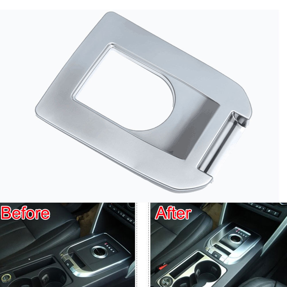 BBQ@FUKA car accessories For 2015-2016 land rover Discovery Sport Console Gear Shift Knob Shifter Panel Cover ABS Car Trim bbq fuka 2x car console center left right cover panel trim sticker abs fit for land rover range rover sport 2014 2017