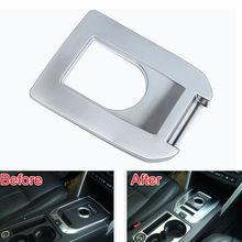 BBQ @ FUKA accesorios del coche Para 2015-2016 land rover Discovery Consola Deporte Gear Shift Knob Shifter Cubierta Del Panel ABS Car Trim