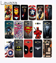 Фотография 3119G Deadpool Ironman Batman Superhero Hard Transparent Case Cover for Galaxy S6 S7 & edge Plus S2 S3 S4 S5 & Mini case cover
