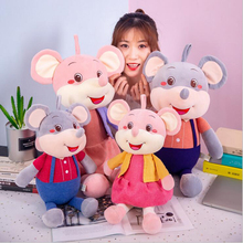 New Style Lovely Couple Mouse Doll Plush Toys Stuffed Animal Plush Doll Toy Children Toys Girls Birthday Gifts disney plush toys cowbo mickey mouse minnie plush toys doll boys girls stuffed doll birthday gifts toys for children baby