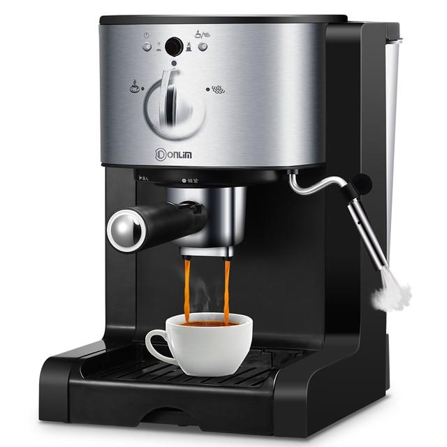 Italian Drip Coffee Machine Semi Automatic Steam Pot Powder Capsules Three In One