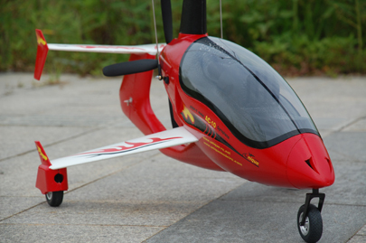 Modelo único AC10 RC Gyrocopter PNP