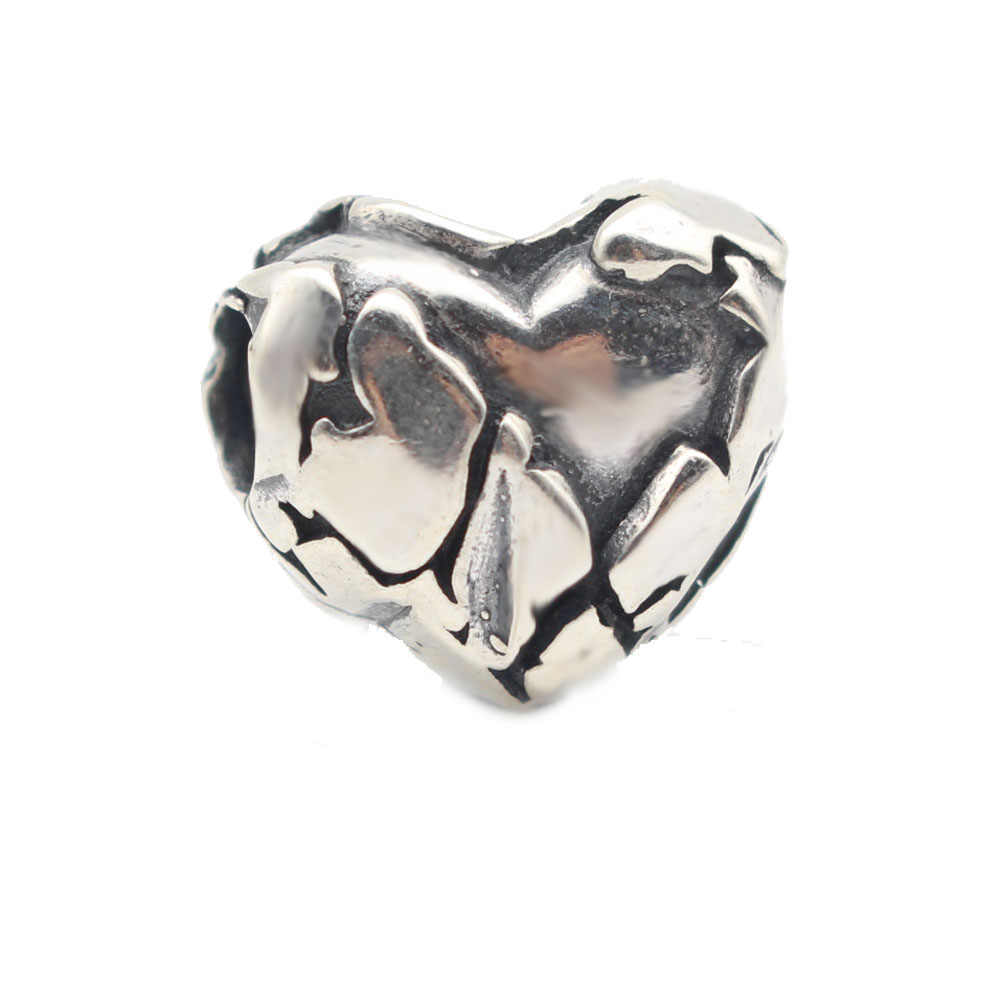 925 Sterling Silver Neverending Charm Beads Fit Original Troll 5mm Big Hole Bracelets For Gift Womnen DIY Bead Jewelry Making
