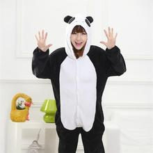 Kigurumi Onesie Adult Women Animal Pajamas Suit Flannel Warm Soft Sleepwear Onepiece Winter Jumpsuit Pijama Cosplay