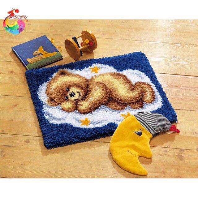 Наборы для вышивания Ковер для вышивания крестиком рукоделие счетный крест Стежка нить темы вышивка Мультфильм Медведь