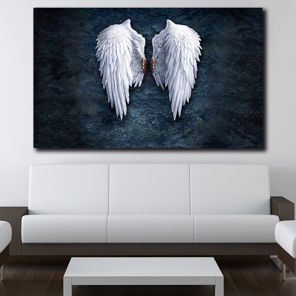 Angel Wings Home Decor: Fashion Wall Pictures Anime Angel Wings Image Home Decor