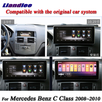 Liandlee For Mercedes Benz C Class MB W204 C200 C260 C180 Android Original System Car Radio GPS Map Navi Navigation Multimedia