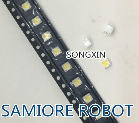 10000pcs LUMENS LED SMD 3535 3537 1W 3V Cool white LCD Backlight for TV A129CECEBP19C led