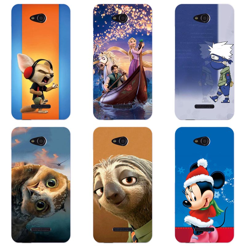 For HTC Desire 616 Dual Sim D616W Fashion Pattern Colorful Painted Phone Case New Design For HTC D616 Mobile phone shell