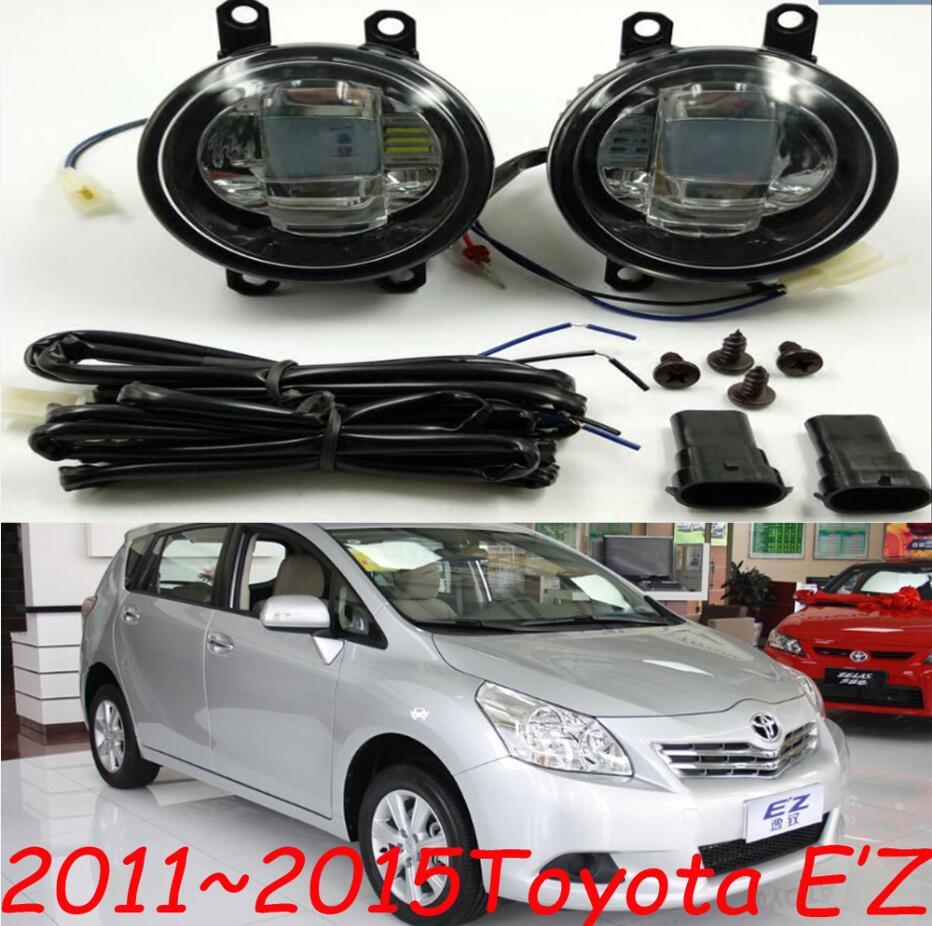 EZ light,Highlander fog light,2pcs,LED,Yaris L daytime light,Free ship! Corolla fog lamp,prado headlight,E'Z