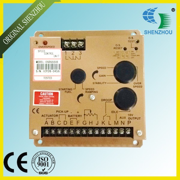 Free Shipping ESD5550E Engine Speed Governor For Diesel Generator free shipping d e e p s e a controller dse702 suit for diesel generator