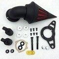 Del mercado de accesorios piezas de la motocicleta del filtro de aire / aire / aire para Harley Davison Softail Fat Boy Dyna Street Bob Glide negro