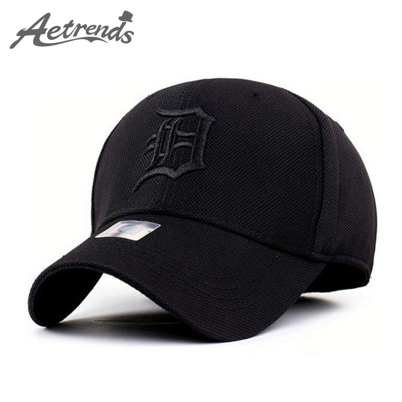 [AETRENDS] 2016 Spandex Elastic Fitted Hats Sunscreen Baseball Cap Men or Women casquette bone aba reta Z-1312