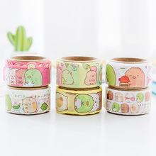 20mm Japanese Sumikko Gurashi Masking Washi Tape Scrapbooking Kawaii Cartoon DIY Journal Decorative Adhesive Stationery