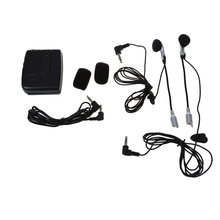 Motorcycle Intercom Helmet Intercom + Headphones