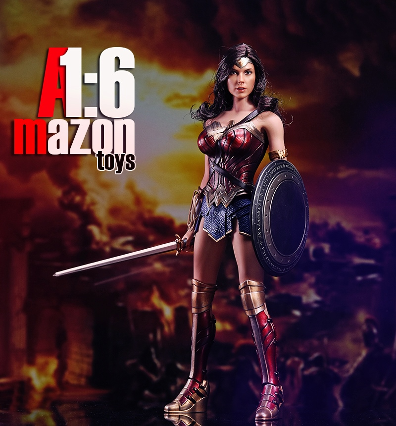 1/6 Scale Figure Movie Wonder Woman amazons AMtoys 1:6 Warrior Collection Full Set Action Figure brian azzarello wonder woman volume 1 blood