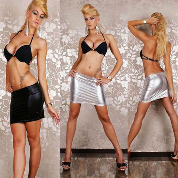 vinyl lingerie dress Free Shipping wholesale Women SKIRT hot Sexy Faux  Leather Wet Look SEXY wet look SKIRT 3S9062 c99e6dccb