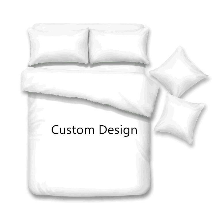 ASM Plain Dyed Duvet Set Cover Bedding Set Pillow cases