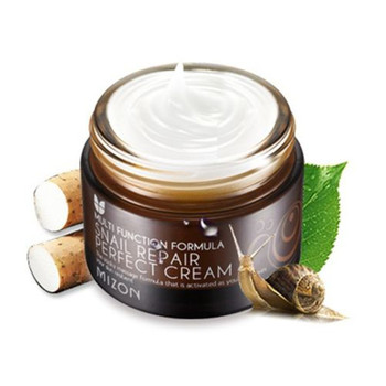 MIZON Snail Repair Perfect Cream 50ml Korea cosmetic Skin Care Acne Treatment Ageless Moisturizing Whitening Face Anti Wrinkle