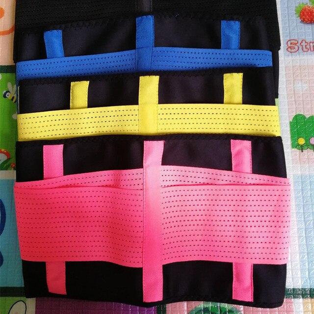 Men's Slimming Belt Body Shapers Tummy Modeling Strap Girdle Fitness Waist Trainer Trimmer Cincher Adjustable Belts Corsets 4