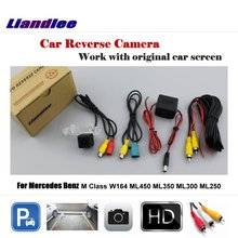 Liandlee Car Reverse Rearview Camera For Mercedes Benz M Class W164 ML450 ML350 ML300 ML250 Original Screen Parking