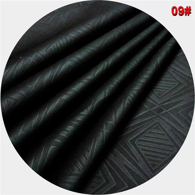 Bazin riche getzner nero dashiki tessuto atiku tessuto per gli uomini nigeriano cucire brode suisse di alta qualità 10 yard/pezzo