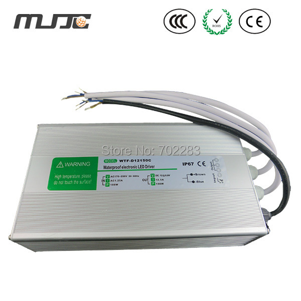 Здесь продается  12V 12.5A 150W LED Transformer Waterproof IP67 for low voltage led light fixtures  Свет и освещение