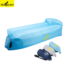 Travelsky quick inflatable, waterproof, lazy beach sofa, outdoor inflatable sleeping bag is essential for outdoor rest