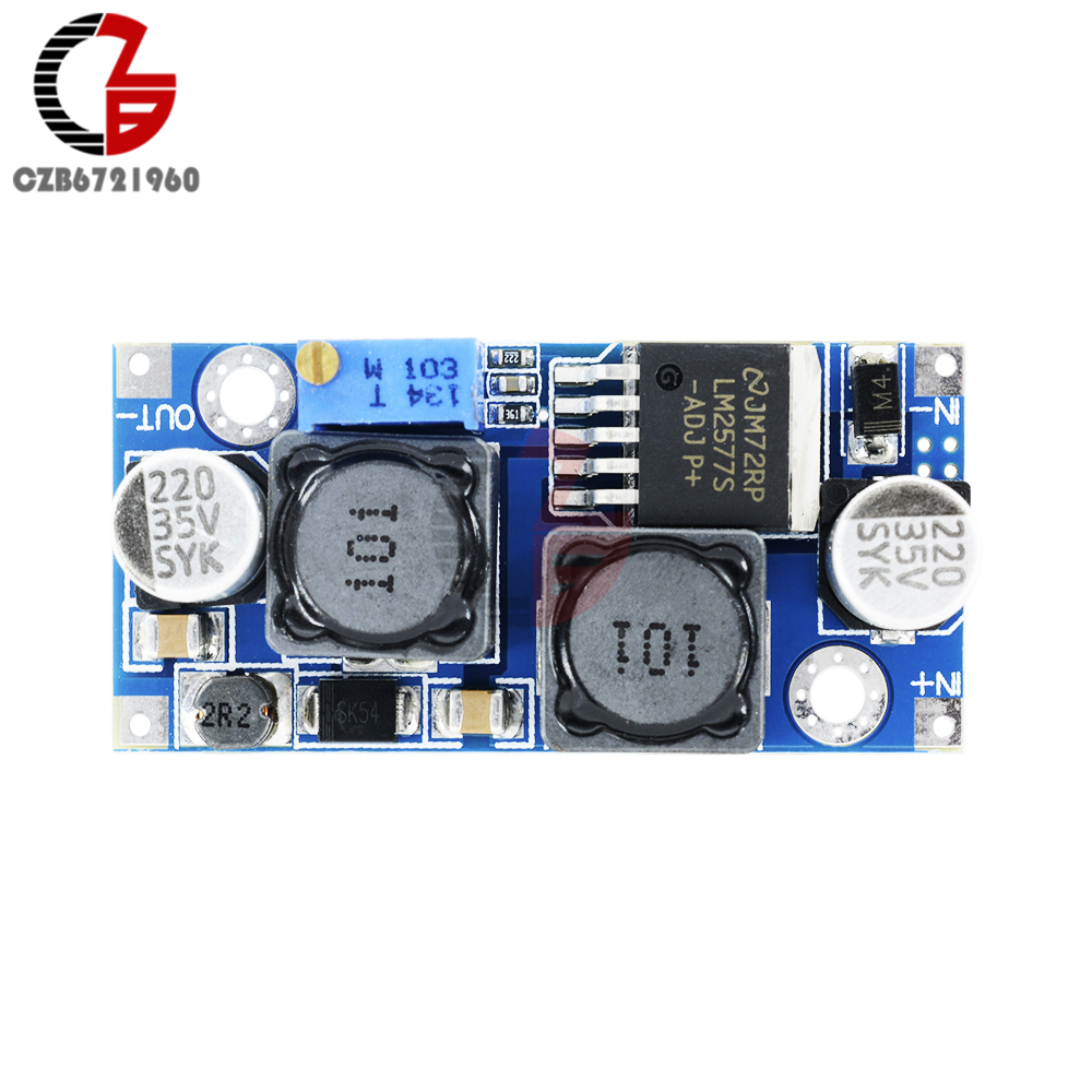 5pcs Dc Auto Boost Buck Step Up Down Converter Module Voltage Circuits Apmilifier 5v To 12v Lm2577 Transformer Solar Board 24v In Inverters Converters From Home Improvement
