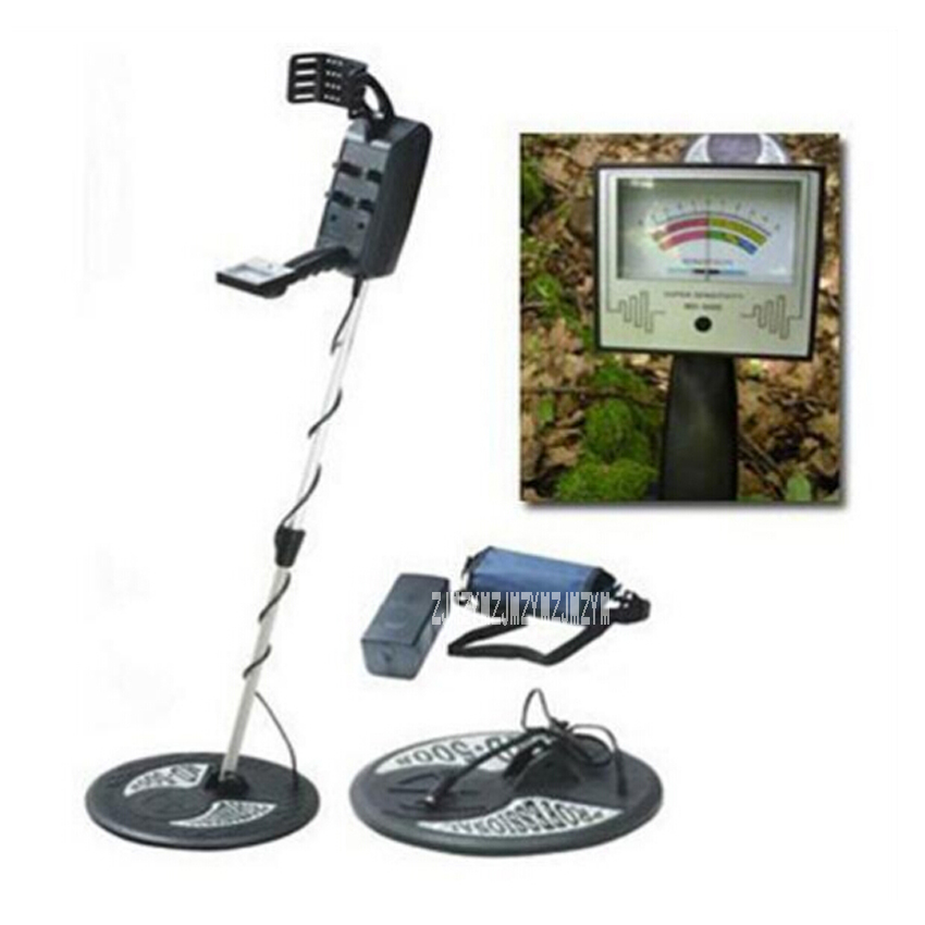 New Arrival MD-5008 Under Ground Metal Detector Gold Max Detection depth 3.5m Battery-Powered Metal Detector With LCD Screen Hot промышленный детектор металла hot selling md 5008 gold finder