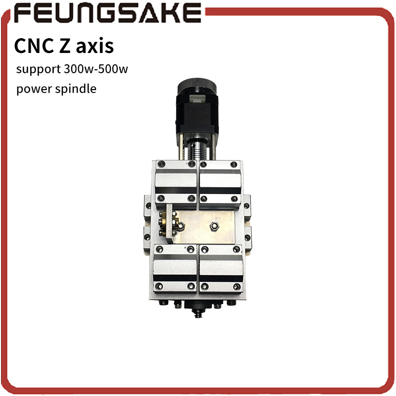 CNC Z Axis Sliding Working Table 4cm working 3 Axis DIY Milling Linear Motion for CNC Engraving Machine,T8 screw 12mm guide rail cnc z axis slide table 60mm stroke diy milling linear motion 3 axis engraving machine new