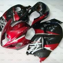 GSX R1300 1997-2007 Обтекатели GSX R1300 2005 обтекатель для Suzuki GSXR1300 03 04 красные, черные серебристый кузов