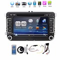 2 din reproductor de dvd de radio del coche de VW vw passat b6 golf polo 5 vw golf 4 volante touran sharan t5 caddy con GPS navigator