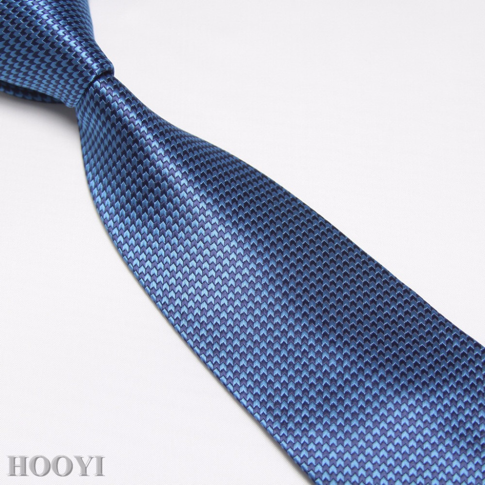 HOOYI Ties for men Gravata Business Microfiber Neck Tie Wedding Adult Gift Necktie 12 colors for choose