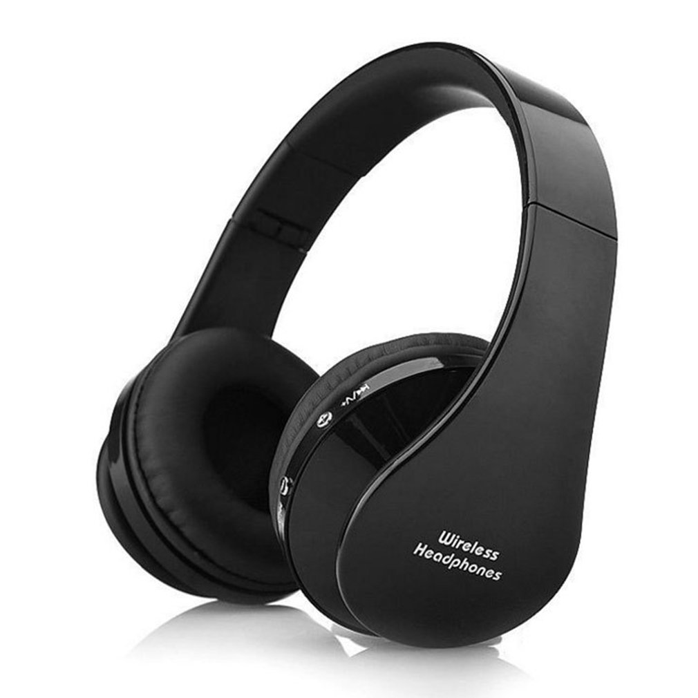 NX8252 Wireless Headphones with MicMultipointNFC Over Ear Bluetooth 4.1 Stereo Music aptX Headset for TV Phone