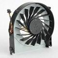 Notebook computador ventiladores de refrigeração da cpu para hp pavilion dv7-4000 series laptops processador cooler fan ksb0505ha f0621 substituições p72